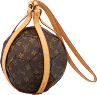 Louis Vuitton Limited Edition Monogram Canvas 1998 France World Cup Soccer Ball & Carrying Case Condition: 2 25&...