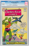 Silver Age (1956-1969):Superhero, Detective Comics #270 (DC, 1959) CGC VF/NM 9.0 Off-white to white pages....