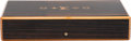 """Luxury Accessories:Home, Louis Vuitton Mahogany Wood Cigar Humidor. Condition: 1. 11"""" Width x 2"""" Height x 6"""" Depth. ..."""