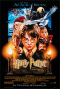"""Movie Posters:Fantasy, Harry Potter and the Sorcerer's Stone (Warner Bros., 2001). Rolled, Very Fine-. One Sheet (27"""" X 40"""") DS, Advance. Drew Stru..."""