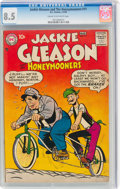 Silver Age (1956-1969):Humor, Jackie Gleason and the Honeymooners #11 (DC, 1958) CGC VF+ 8.5 Cream to off-white pages....