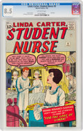 Silver Age (1956-1969):Romance, Linda Carter, Student Nurse #9 (Marvel, 1963) CGC VF+ 8.5 Off-white pages....