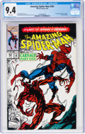 Modern Age (1980-Present):Superhero, The Amazing Spider-Man #361 (Marvel, 1992) CGC NM 9.4 White pages....