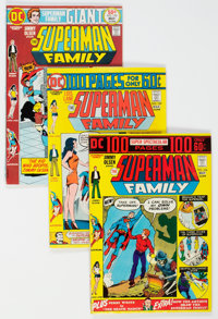 The Superman Family Group of 34 (DC, 1974-82) Condition: Average VF+.... (Total: 34 Comic Books)