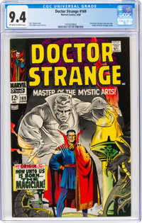 Doctor Strange #169 (Marvel, 1968) CGC NM 9.4 Off-white to white pages