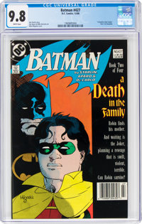 Batman #427 (DC, 1988) CGC NM/MT 9.8 White pages