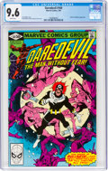 Modern Age (1980-Present):Superhero, Daredevil #169 (Marvel, 1981) CGC NM+ 9.6 White pages....