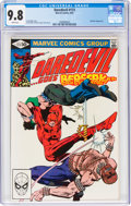Modern Age (1980-Present):Superhero, Daredevil #173 (Marvel, 1981) CGC NM/MT 9.8 White pages....