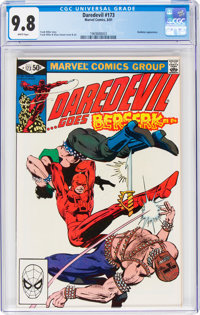 Daredevil #173 (Marvel, 1981) CGC NM/MT 9.8 White pages