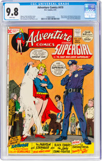 Adventure Comics #419 (DC, 1972) CGC NM/MT 9.8 White pages