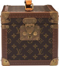 """Luxury Accessories:Bags, Louis Vuitton Brown Monogram Coated Canvas Boite Flacons Train Case. Condition: 3. 8.5"""" Width x 8"""" Height x 11.5"""" Dept..."""