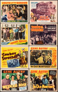 "Movie Posters:Western, Mexicali Rose & Other Lot (Republic, 1939). Overall: Very Fine-. Title Lobby Cards (4) & Lobby Cards (4) (11"" X 14""). Wester... (Total: 8 Items)"