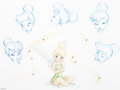 "Memorabilia:Print, ""The Many Expressions of Tink"" Tinker Bell Limited Edition Print #12/1000 (Walt Disney, 2009)...."