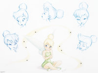 """""""The Many Expressions of Tink"""" Tinker Bell Limited Edition Print #12/1000 (Walt Disney, 2009)"""