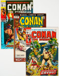 Bronze Age (1970-1979):Adventure, Conan the Barbarian Group of 48 (Marvel, 1971-75) Condition: Average VG/FN.... (Total: 48 )