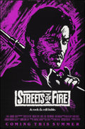 """Movie Posters:Action, Streets of Fire (Universal, 1984). Rolled, Very Fine. One Sheets (4) (27"""" X 40"""" & 27"""" X 41"""") SS Regular Style & Advance 3 St... (Total: 4 Items)"""
