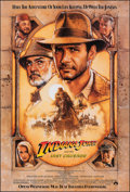 """Movie Posters:Action, Indiana Jones and the Last Crusade (Paramount, 1989). Rolled, Very Fine/Near Mint. One Sheet (27"""" X 40"""") SS, Advance, Style ..."""