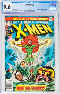 X-Men #101 (Marvel, 1976) CGC NM+ 9.6 White pages