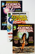Magazines:Science-Fiction, Unknown Worlds of Science Fiction Group of 6 (Marvel, 1975-76) Condition: Average NM-.... (Total: 6 Comic Books)
