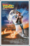 "Movie Posters:Science Fiction, Back to the Future (Universal, 1985). Rolled, Very Fine+. One Sheet (27"" X 41"") SS. Drew Struzan Artwork. Science Fiction.. ..."