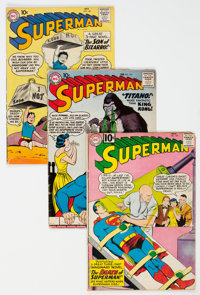 Superman Group of 30 (DC, 1957-68) Condition: Average GD/VG.... (Total: 30 )