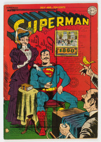 Superman #35 (DC, 1945) Condition: VG