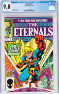 Modern Age (1980-Present):Superhero, The Eternals #1 (Marvel, 1985) CGC NM/MT 9.8 White pages....