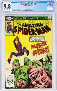 The Amazing Spider-Man #228 (Marvel, 1982) CGC NM/MT 9.8 White pages