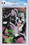 Modern Age (1980-Present):Superhero, Batman: The Killing Joke #nn (DC, 1988) CGC NM/MT 9.8 White pages....