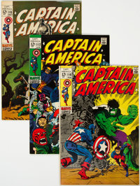 Captain America Group of 20 (Marvel, 1969-72) Condition: Average FN/VF.... (Total: 20 Comic Books)