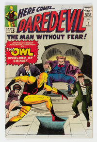 Daredevil #3 (Marvel, 1964) Condition: VG