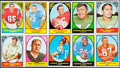 Football Cards:Sets, 1967 Topps Football Complete Set (132). ...