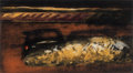 Prints & Multiples, Jane Leone Dickson (b. 1952). Midnight Special, 1988. Etching in colors with carborundum on paper. 23-1/2 x 42-1/2 inche...
