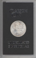 1884-CC $1 GSA Uncertified. With Box and COA. Mintage 1,136,000....(PCGS# 518872)