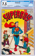 Golden Age (1938-1955):Superhero, Superboy #10 (DC, 1950) CGC VF- 7.5 Cream to off-white pages....