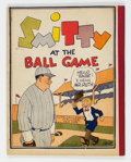 Platinum Age (1897-1937):Miscellaneous, Smitty At The Ball Game Rare Softcover Edition (Cupples & Leon, 1929) Condition: VF....
