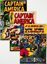 Captain America #101-108 Group (Marvel, 1968) Condition: Average VF.... (Total: 8 Comic Books)