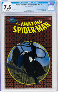 Marvel Collectible Classics: Spider-Man #1 (Marvel, 1998) CGC VF- 7.5 White pages