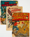 Golden Age (1938-1955):Miscellaneous, Golden Age Comics Group of 5 (Various Publishers, 1940s) Condition: Incomplete.... (Total: 5 Comic Books)