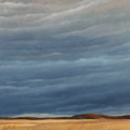 Paintings, Tallie Moore (American, b. 1933). Stormy Skies (tryptych). Oil on canvas, each. 24 x 24 inches (61.0 x 61.0 cm) (each). ... (Total: 3 Items)
