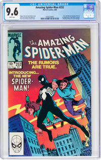The Amazing Spider-Man #252 (Marvel, 1984) CGC NM+ 9.6 White pages