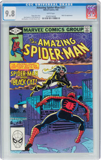 The Amazing Spider-Man #227 (Marvel, 1982) CGC NM/MT 9.8 White pages