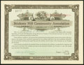Miscellaneous:Other, Concord, NH- Stickney Hill Community Association Stock Certificate 500 Shares 11.2.(19)21 About Uncirculated.. ...