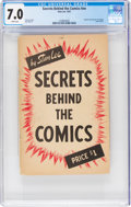 Books:Creator Biography, Secrets Behind The Comics #nn (Stan Lee, 1947) CGC FN/VF 7.0 White pages....