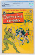 Golden Age (1938-1955):Superhero, Detective Comics #140 (DC, 1948) CBCS GD/VG 3.0 Cream to off-white pages....