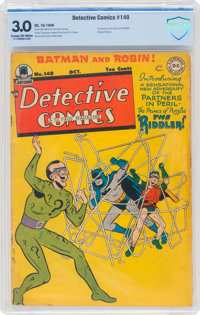 Detective Comics #140 (DC, 1948) CBCS GD/VG 3.0 Cream to off-white pages