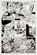 Original Comic Art:Panel Pages, Curt Swan and Frank Chiaramonte Action Comics #513 Story Page 11 Superman Original Art (DC, 1980)....