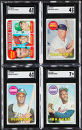 Baseball Cards:Sets, 1969 Topps Baseball Complete Set With Variation (664)....