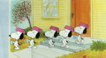Animation Art:Production Cel, Peanuts The Charlie Brown and Snoopy Show Production Cels Sequence of 5 (Bill Melendez, 1983).... (Total: 4 Original Art)