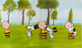 Animation Art:Production Cel, Peanuts The Charlie Brown and Snoopy Show Production Cels Sequence of 3 with Animation Drawings (Bill Melendez, 19... (Total: 4 Original Art)